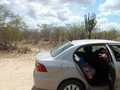 #8: Paramos o carro a 1350 metros da confluência - we stopped the car 1350 meters to the confluence