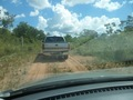 #2: Sendo rebocado pela caminhonete - Being towed by the pickup truck