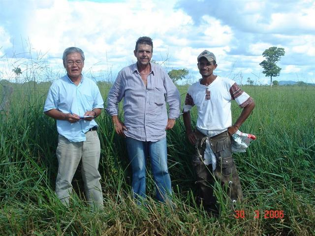 Eduardo, ranch owner Ivan and Vandervan