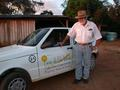 #6: Harri Muller and the car provided by the Lucas do Rio Verde municipality