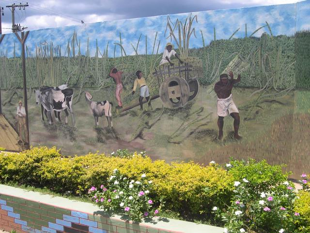 Some paints in Itacambira city
