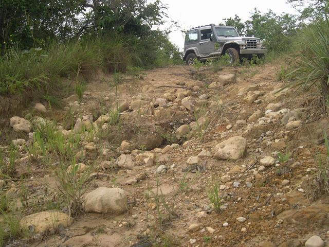 The 4WD road to confluence