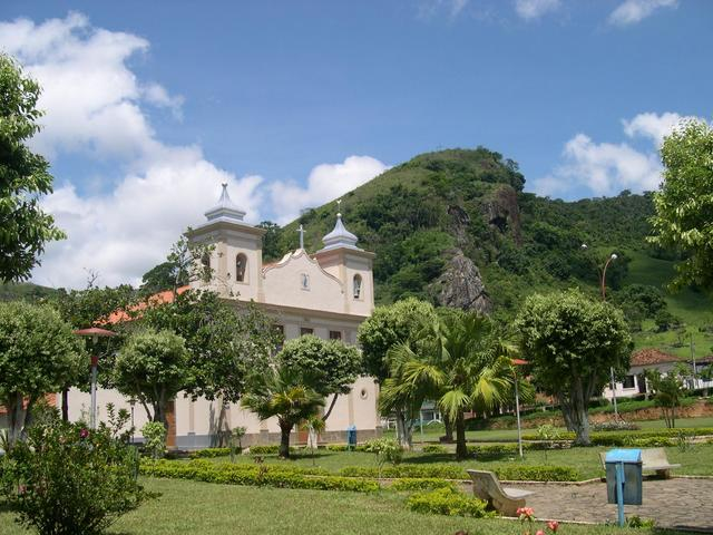 Chiador(MG) - the central square - small and beautiful city