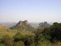 "#6: Cuscuzeiro and Morro do Camelo, ""witness mountains"" on our way to the confluence."
