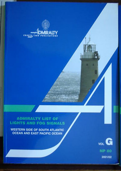Admiralty List of Lights and Fog signals