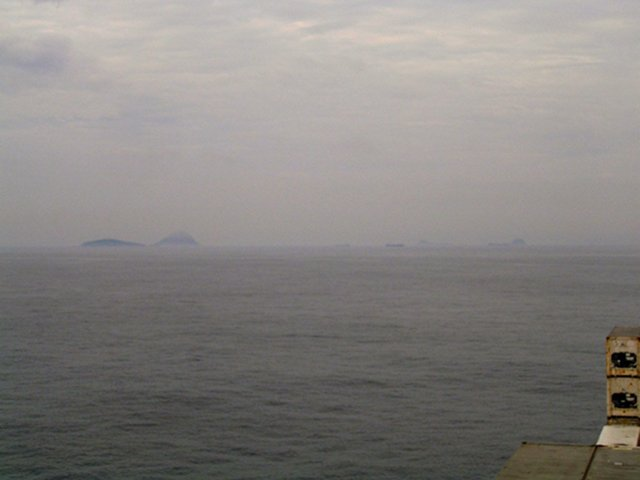 View towards WSW onto Ilha Redonda and Ilha Rasa