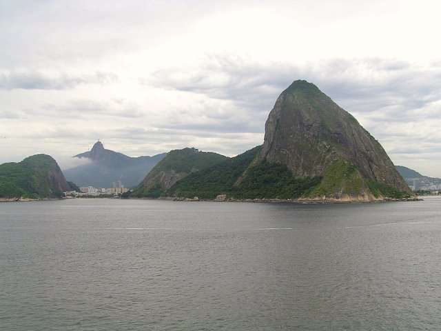 """Sugar Loaf Mountain"" and Morro de Corcovado (a little left)"