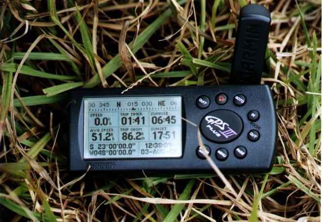 Gps on the confluence
