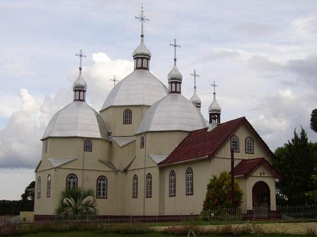 Ukrainian church close to Antônio Olinto.