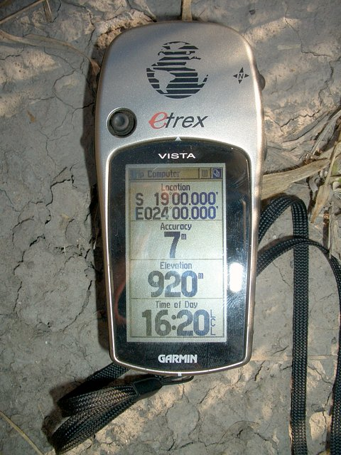 GPS at the site