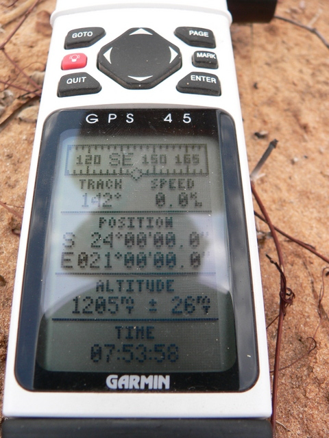 GPS reading Latitude/Longitude