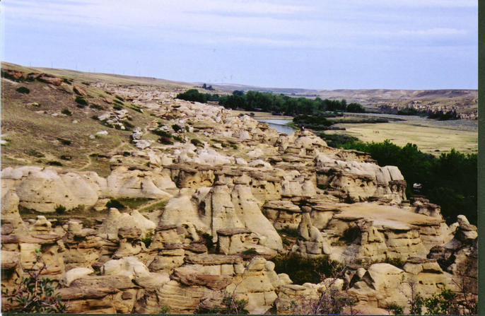 Nearby Writing on Stone Provincial Park
