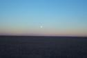 #3: The moon, looking Northeast from the confluence