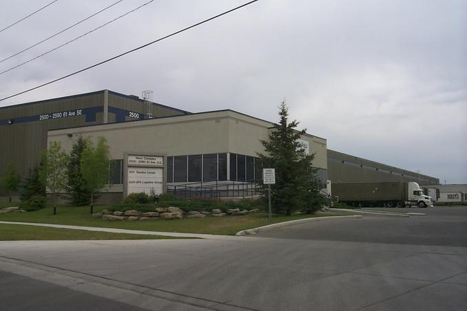 Beaulieu Canada warehouse in Ogden Industrial Park.  The keeper of the confluence.
