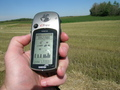 #6: The GPS receiver zeroed quite easily.