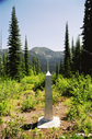 #9: Boundary monument 195 facing East