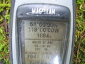 #2: The actual coordinates on GPS