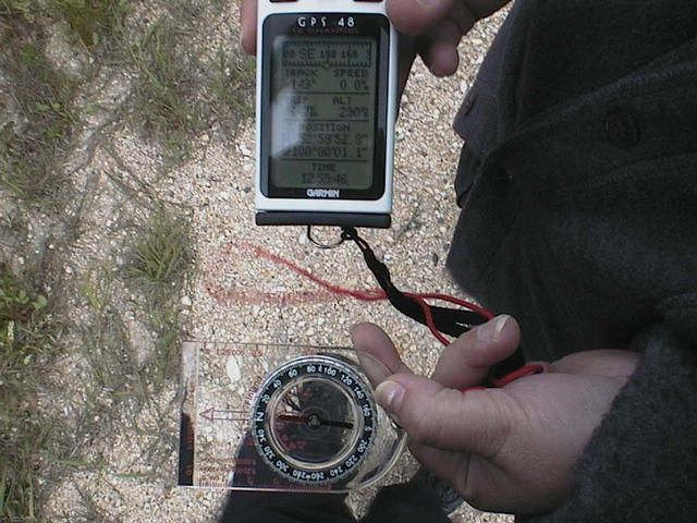 Compass and GPS (co-ordinates)