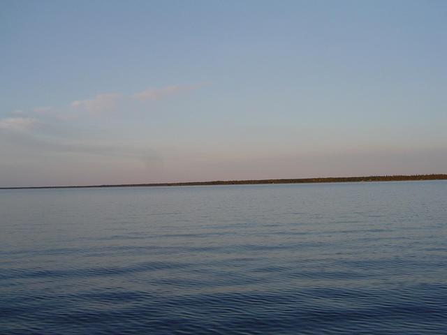 Picture taken July 6/2004 facing East from confluence