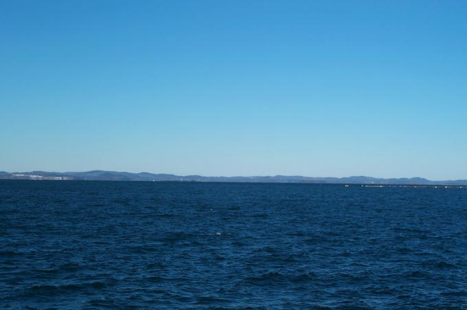 view towards Maine