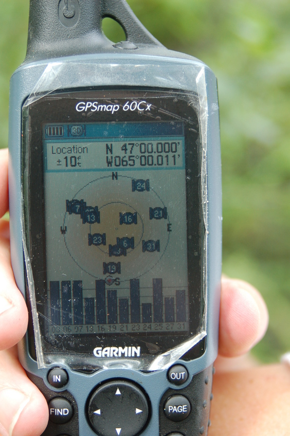 GPS view