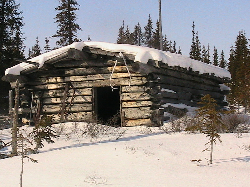 This picture of the Warden grove cabin is about 175 km from the confluence