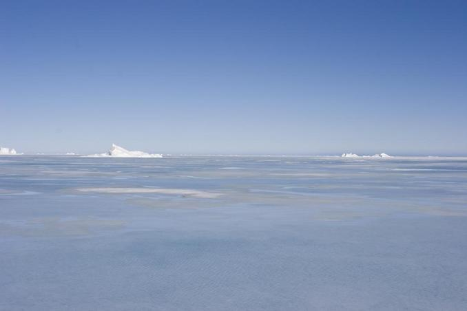 View east over northern Baffin Bay