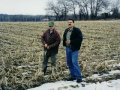 #2: facing north: Tim and George on the exact spot