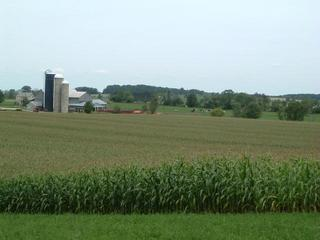 #1: 44N 81W is right in the middle of the cornfield.