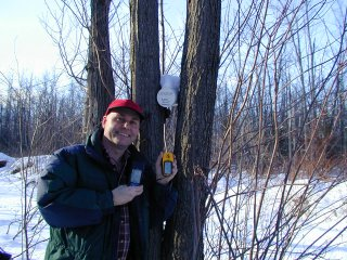 #1: Steve discovers geocache at confluence