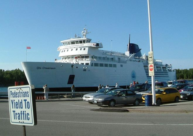 "Chi-Cheemaun Ferry (""the Big Canoe"")"