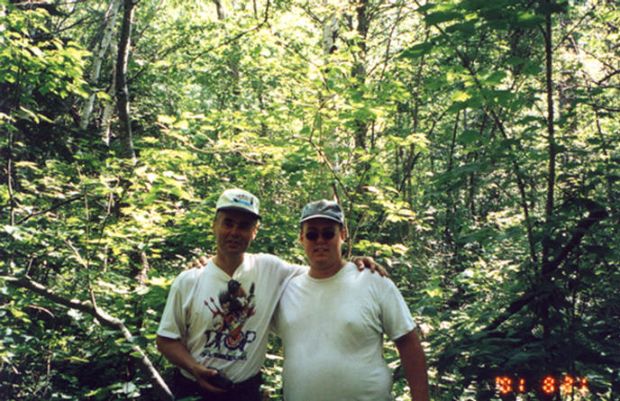 Picture of my father and I - Doug and Jeff Rocheleau