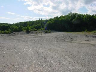 #1: Gravel pit.  This is the closest picture we got and it's about 6 km from the confluence.