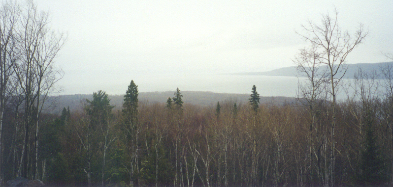Looking south toward Lake Superior