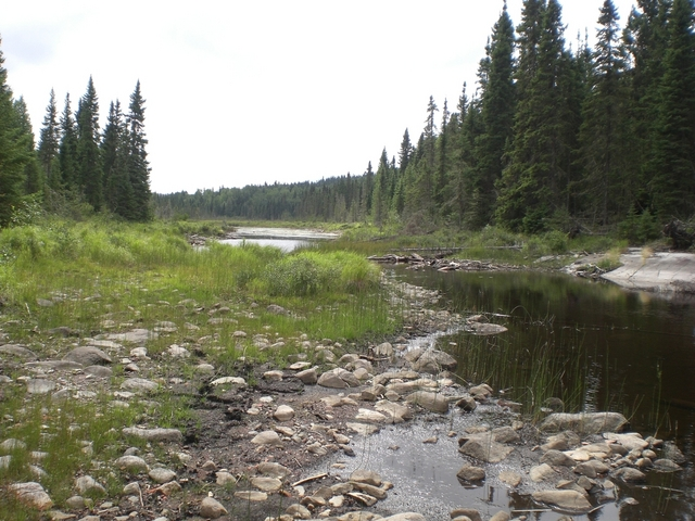 View of Gurnett Lake from North End