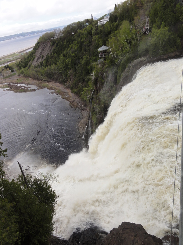 Montmorency waterfall