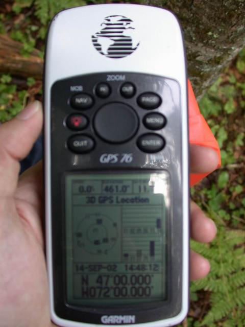Photo of the GPS 76