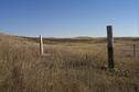 #10: Tri-corner monument.  The pole marks the northeast corner of Montana.