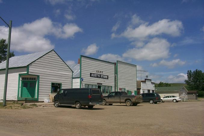 Main Street, Big Beaver, Saskatchewan.