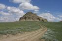 #10: Castle Butte - about 12 km north of Big Beaver.