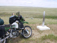 #4: Border marker looking NE