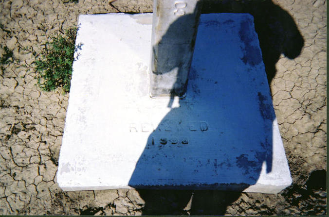 The base of the international marker