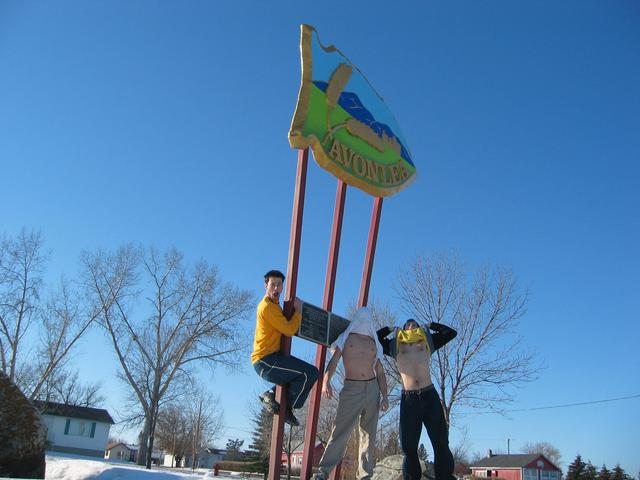 Avonlea Sign (Town near CP)