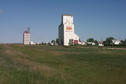 #10: Hodgeville grain elevators ... the old and the new.