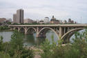 #6: On our way we passed through Saskatoon, the city of bridges.