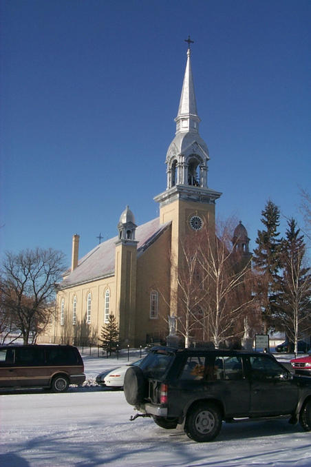 St. Joseph Catholic Church in Marcelin.