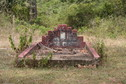 #9: Tombstone with Sinhalese inscription by the path to the point