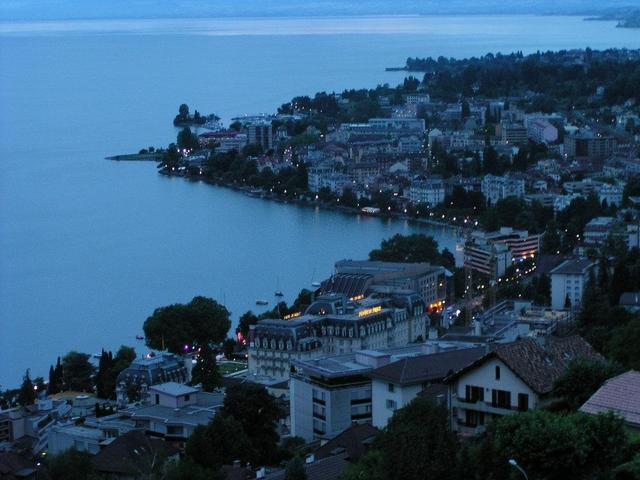 Montreux, home of the yearly Jazz Festival