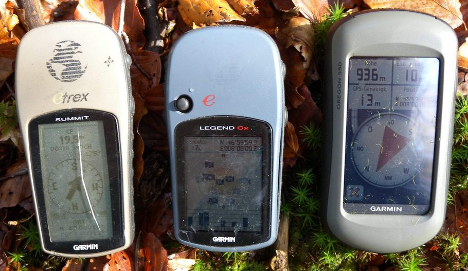 Comparison of 3 GPS Readings