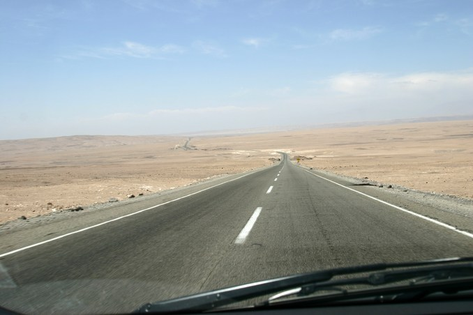 Road, leading to Arica.